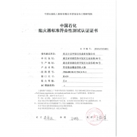 DN50 Flame arrester certificate ISO16852-2016