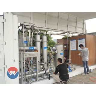 SiC membrane Drinking Water Filtering Project